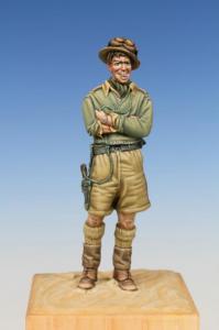 Bodi British Tank Crewman WWII West Desert 1940