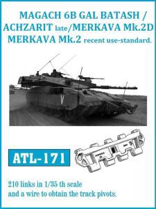 Friulmodel GAL BATASH / ACHZARIT Late / MERKAVA Mk. 3D - Track Links