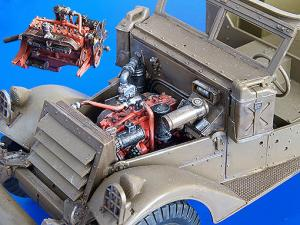 Plus Model M3 Scout Car - engine set