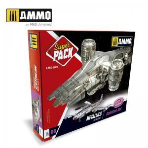 Ammo Mig Jimenez Metalllics Superpack