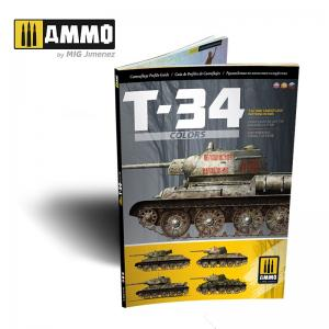 Ammo Mig Jimenez T-34 Colors - T-34 Camouflage Patterns in WWII