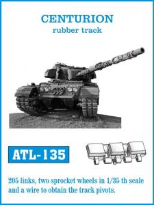 Friulmodel Centurion, rubber tracks - Track Links