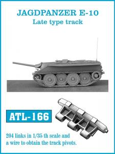 Friulmodel JAGDPANZER E-10 Late type track - Track Links