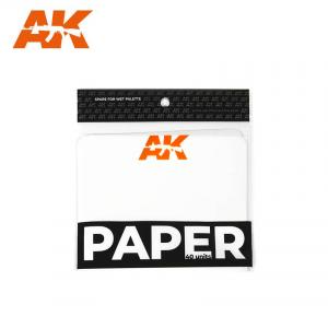 AK Interactive PAPER (wett palette replacement) 40 units.