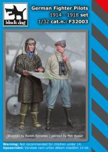 Black Dog German Fighter Pilots set 1914-1918