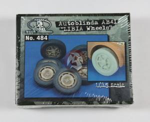 "Royal Model Autoblinda AB41 ""Libia wheels"""