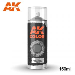 AK Interactive Panzergrey (Dunkelgrau) color - Spray 150ml