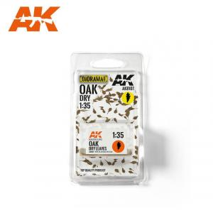 AK Interactive OAK DRY LEAVES 1:35
