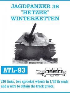 Friulmodel Jagdpanzer 38, Hetzer, Winterketten - Track Links