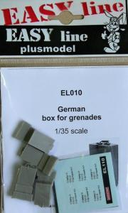 Plus Model German Box for Grenades (4 pcs)