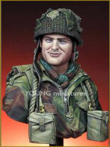 Young Miniatures British Paratrooper Northwest Europe WWII
