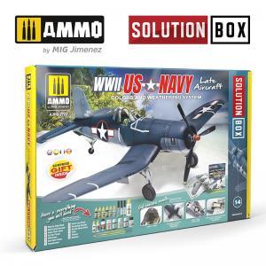 Ammo Mig Jimenez SOLUTION BOX - US Navy WWII Late