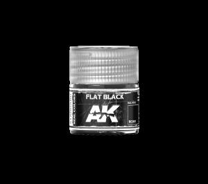 AK Interactive Flat Black 10ml