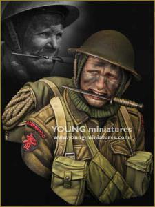 Young Miniatures British Commando WWII