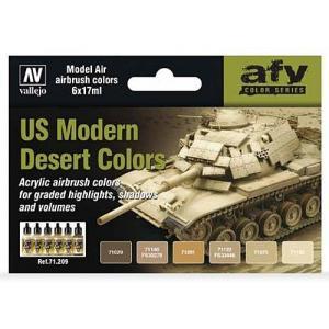 Vallejo Model Air - US Modern Desert Colors