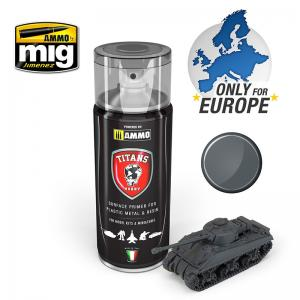 Ammo Mig Jimenez Panzergrau Matt Primer (German Dark Grey)