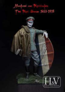 Heroes & Villains Manfred von Richthofen, The Red Baron 1453-1918 75mm