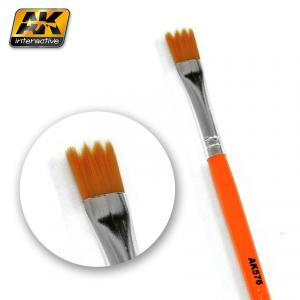 AK Interactive WEATHERING BRUSH SAW SHAPE