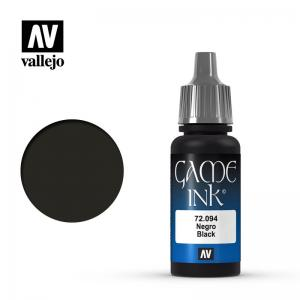 Vallejo Game Color - Black (Ink)