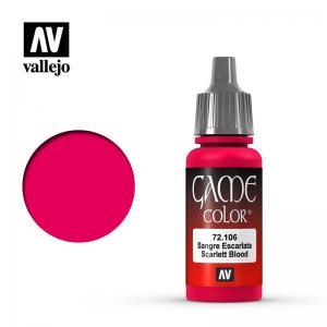 Vallejo Game Color - Scarlett Blood