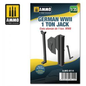 Ammo Mig Jimenez German WWII 1 ton Jack
