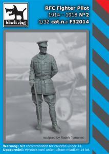 Black Dog RFC Fighter Pilot 1914-1918 No.2