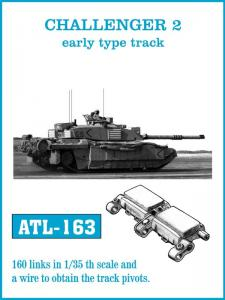 Friulmodel Challenger 2 early - Track Links