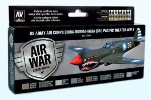 Vallejo Model Air - US Army Air Corps Paint Set