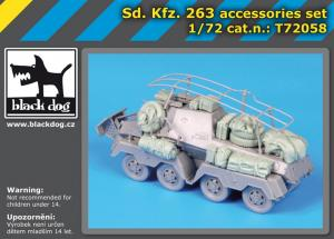 Black Dog Sd.Kfz. 263 accessories set