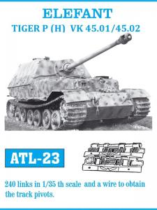 Friulmodel Elefant/Tiger P (H) VK 45.01/45.02 - Track Links