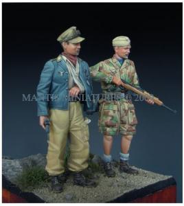 Mantis Miniatures German Paratroopers - Italy 1944
