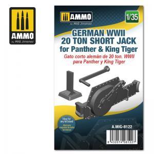 Ammo Mig Jimenez German WWII 20 ton Short Jack for Panther & King Tiger