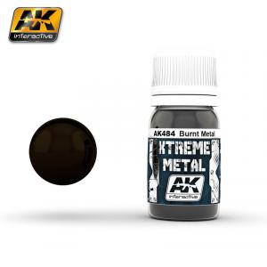 AK Interactive XTREME METAL BURNT METAL