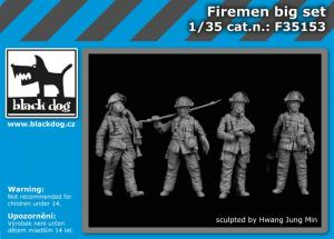 Black Dog Firemen Big Set (4 fig.)