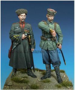 Mantis Miniatures German Cossacks WWII