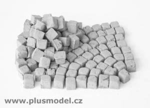 Plus Model Paving stones, small granite