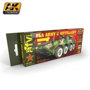AK Interactive PLA ARMY & ARTILLERY