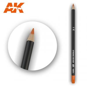 AK Interactive Watercolor Pencil Strong Ocher