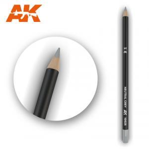 AK Interactive Watercolor Pencil Neutral Grey