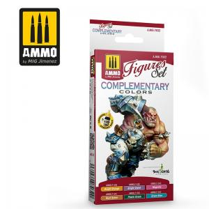 Ammo Mig Jimenez Complementary Colors Figures Paint Set