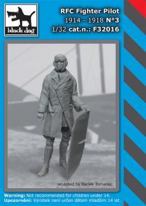 Black Dog RFC Fighter Pilot 1914-1918 No.3
