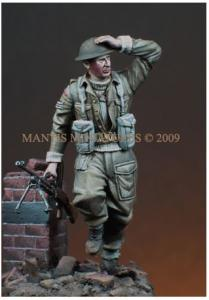 Mantis Miniatures British Infantryman - NW Europe 1944-45