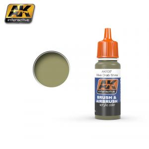AK Interactive OLIVE DRAB SHINE 17 ml