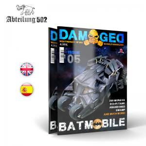 Abteilung 502 DAMAGED, Worn and Weathered Models Magazine - 05 (English)