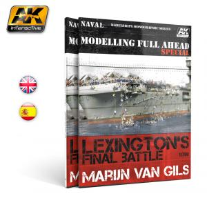 AK Interactive MODELLING FULL AHEAD SPECIAL - English