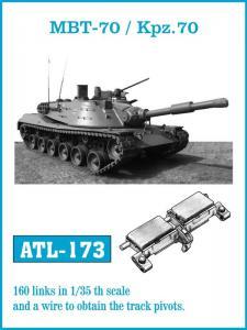 Friulmodel MBT-70/Kpz. 70 - Track Links