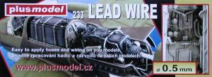 Plus Model Lead Wire 0,5 mm