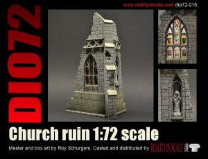 Reality in Scale Ruined Church