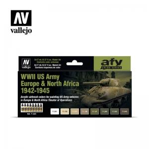 Vallejo WWII US ARMY EUROPE & NORTH AFRICA 1942-1945