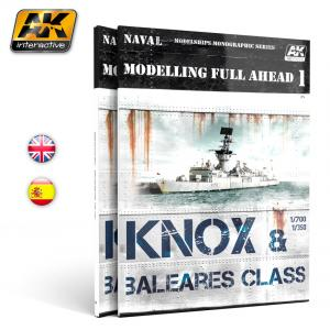 AK Interactive MODELLING FULL AHEAD 1 - English